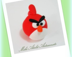 Lembrancinha de biscuit Angry birds