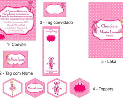 Barbie Bailarina - Festa Personalizada