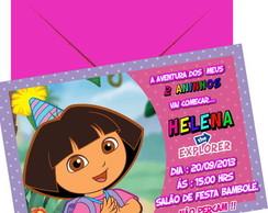 Convite Dora a aventureira.
