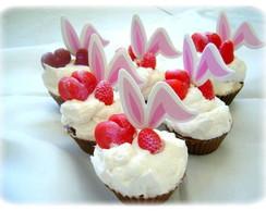 Cupcakes de p�scoa de sabonete