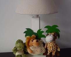 (AJO 0053b) Abajur safari