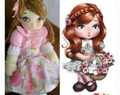 Boneca Jolie de Pano