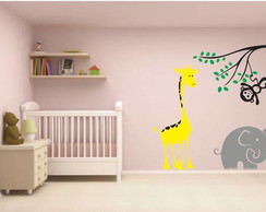 Adesivo Infantil Animais na Floresta 2
