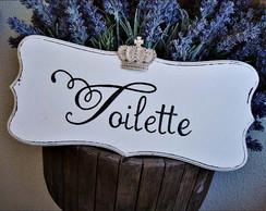 Placa para Toilette King