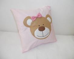 Almofada ursinha rosa