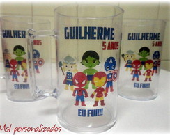 Caneca Acr�lica Her�is Marvel