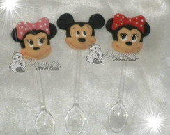Mini Colher Minnie E Mickey