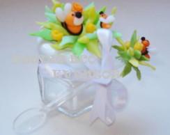 Potes de vidro -Festa abelhinhas