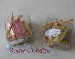 100 Caixinhas Sabonete - Chocolates