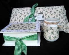 Kit Presente Floral Verde