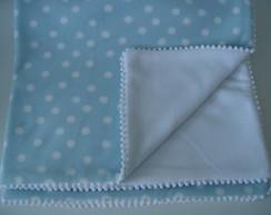 (MTO 0011a) Manta micro soft po� azul