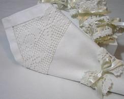 Jogo 4 Porta-Guardanapo Crochet