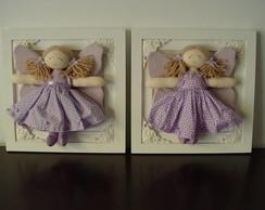 (MA 0111) Quadros maternidade fada