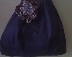 bolsa de tecido de brim