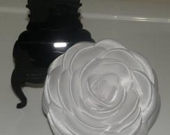 Flor Em Cetim Para Noiva