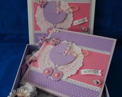 Livro de mensagens e assinaturas Materni