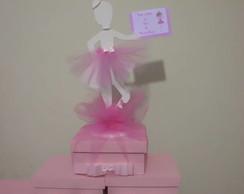 bailarina com caixa 15x15x10