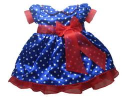 Vestido Galinha Pintadinha Luxo 1012