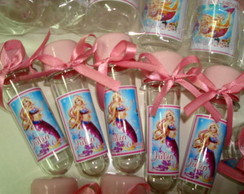 Tubete Barbie em Vida de Sereia