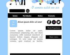 Template Para Blog ( Blogger)