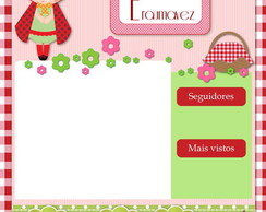 Template Para Blog ( Blogger) + Mascote