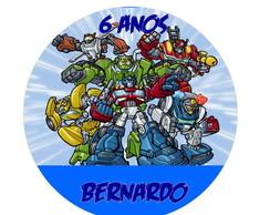 Adesivo transformers rescue bots