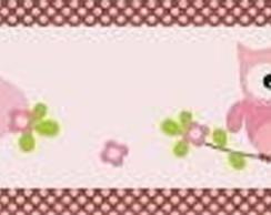 Faixa decorativa de joaninha.