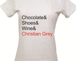 Camisetas 50 tons de Cinza
