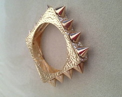 Bracelete spike gold luxury