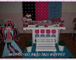 DECORA��O CLEAN SIMPLES MONSTER HIGH
