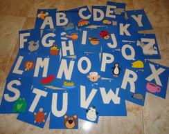 Alfabeto em e.v.a.