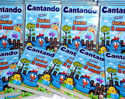 CD/DVD BOX Galinha Pintadinha