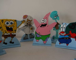 Kit Bob Esponja - 8 pe�as