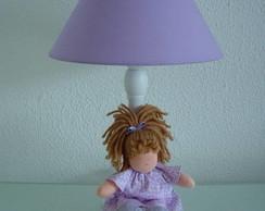 (AJA 0087) Abajur boneca
