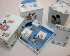 Kit Higi�ne Beb� - Mickey Baby