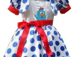 Vestido Galinha Pintadinha  - COR 2