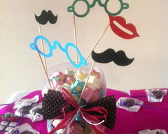 STICKS FOTOS - Moustache, �culos, Boca