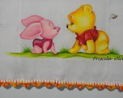 """Fralda """" Ursinho Pooh """""""
