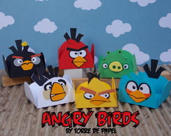 ANGRY BIRDS [porta doces]