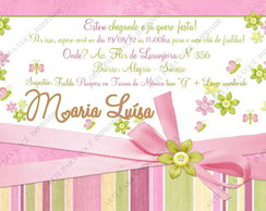 Arte de Convite Maria Luisa
