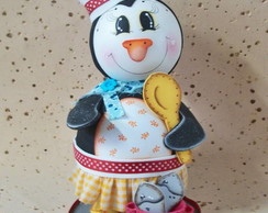 Pinguim de Geladeira 3D