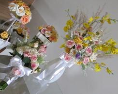 Kit festa rosas sortidas VII