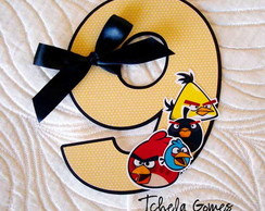 Topper Para Bolo - Angry Birds