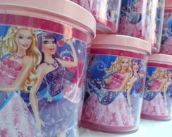 Caneca Barbie A Princesa E A Popstar