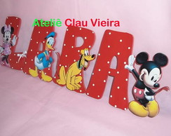 LETRAS DECORATIVAS TURMA DO MICKEY