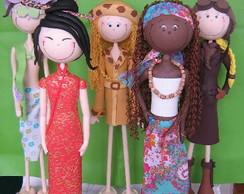 Bonecas de decora��o