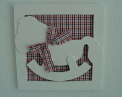 (DO 0057a) Quadro decorativo cavalinho