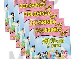 Revista De Colorir Princesas