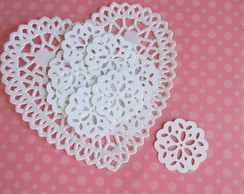 Tiny Doilies White (A289)