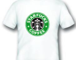 Camiseta Engra�ada StarFucks